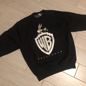 Vintage 1991 Warner bros sweatshirt large